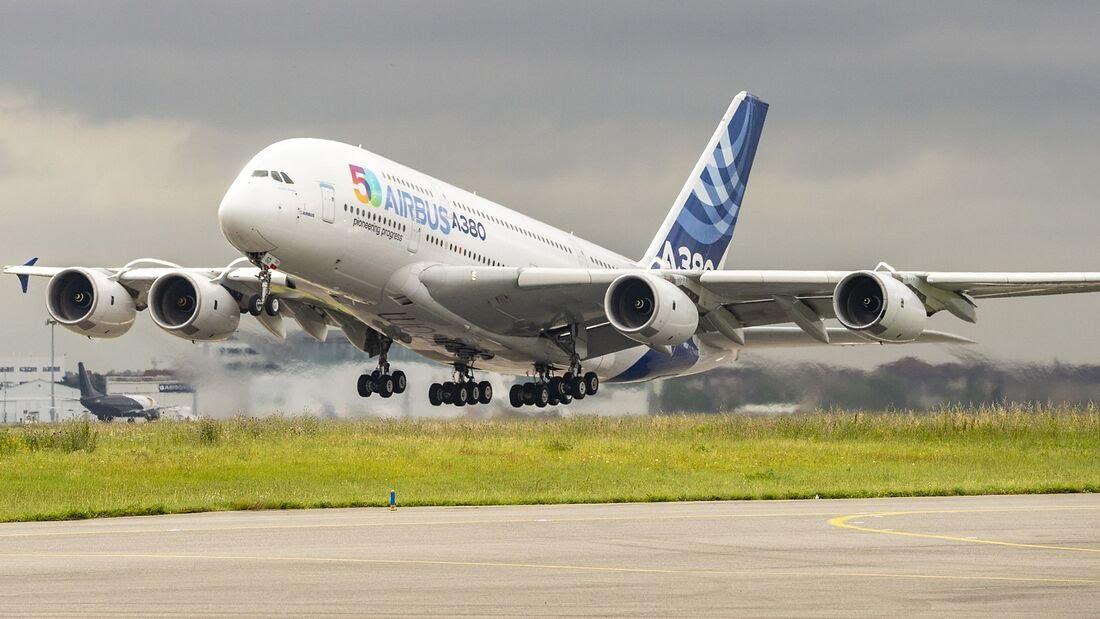 FlugRevue: Fliegt der Airbus A380 bald mit Wasserstoff?